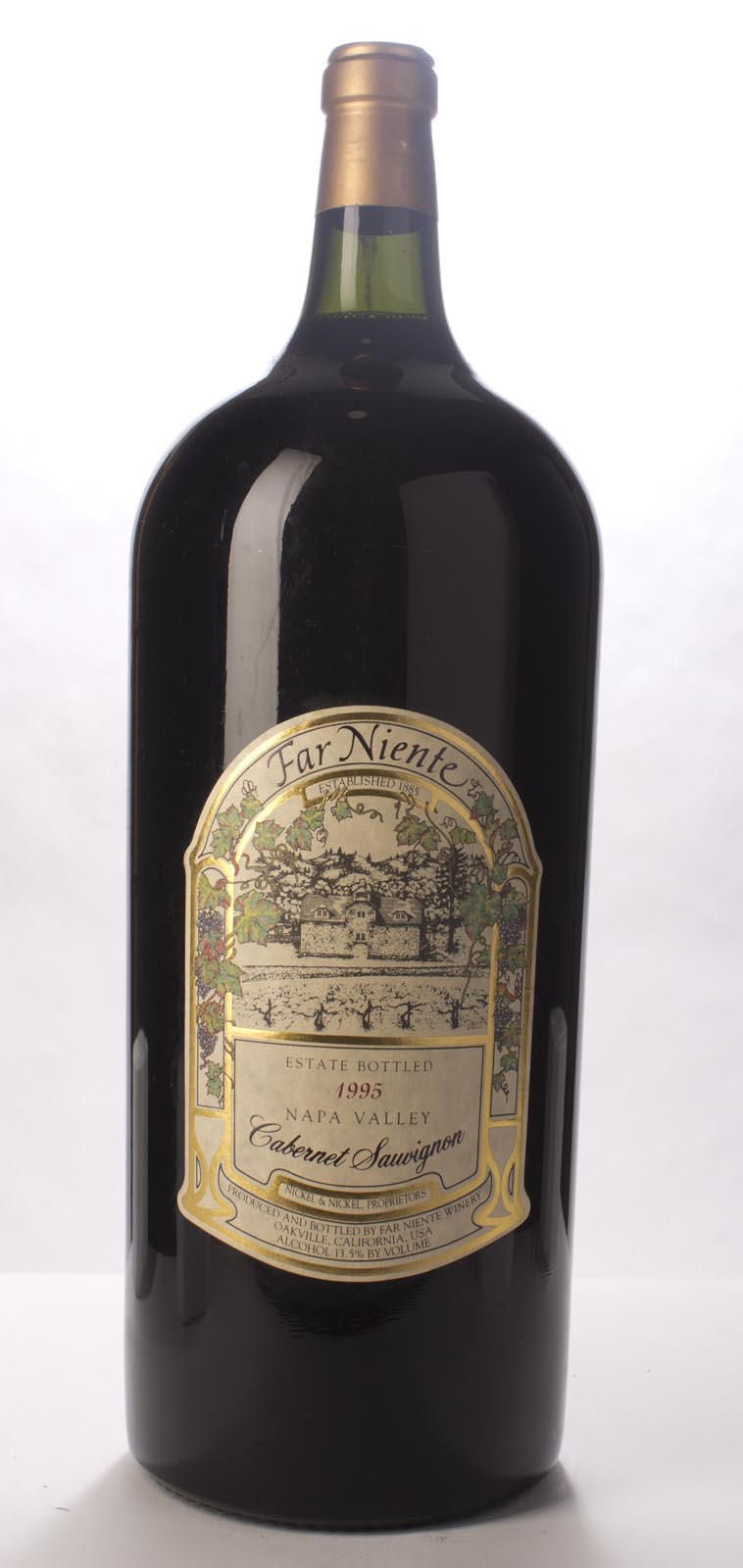 Far Niente Cabernet Sauvignon 1995, 9L (WS92) from The BPW - Merchants of rare and fine wines.