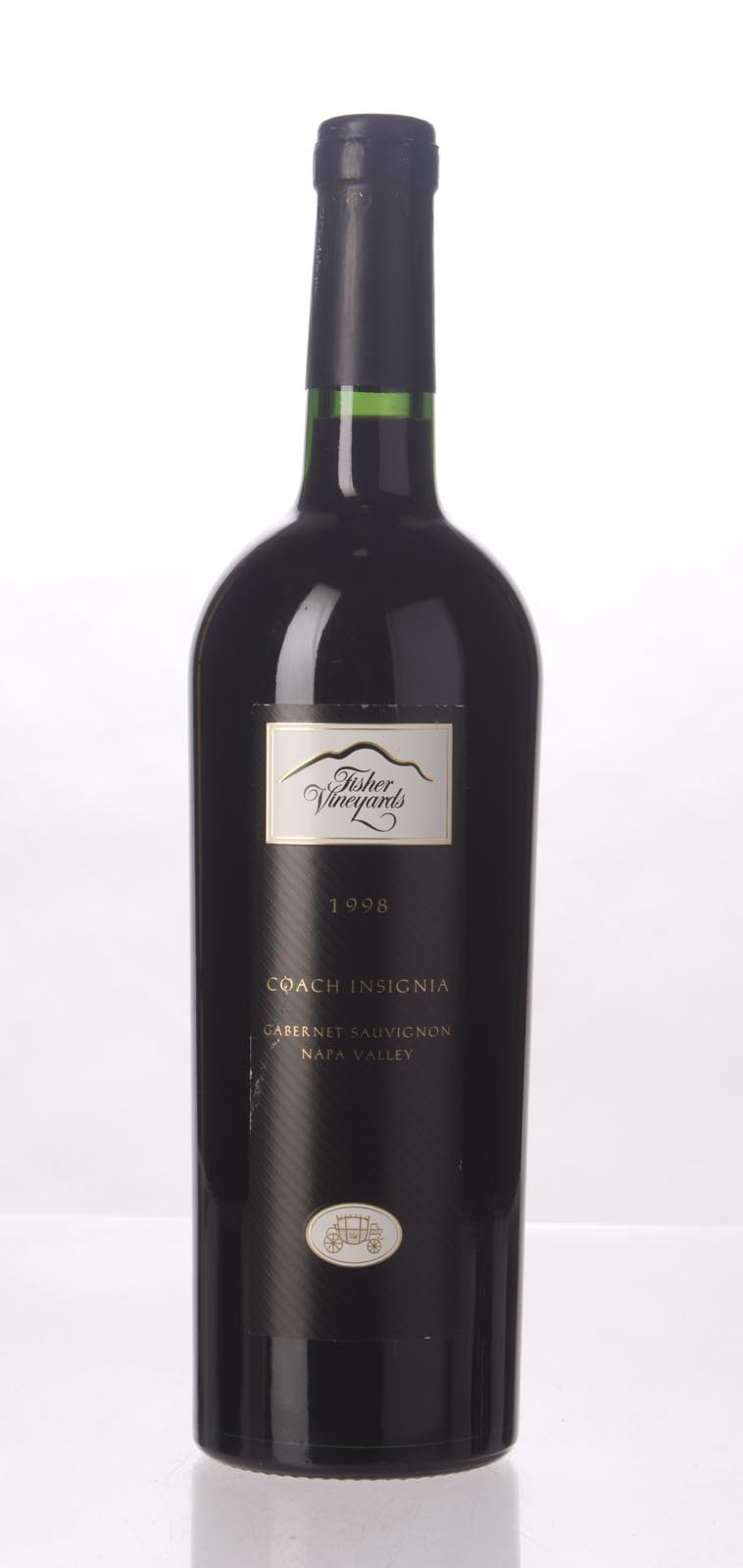 Fisher Proprietary Red Coach Insignia 1998, 750mL (WA88) from The BPW - Merchants of rare and fine wines.