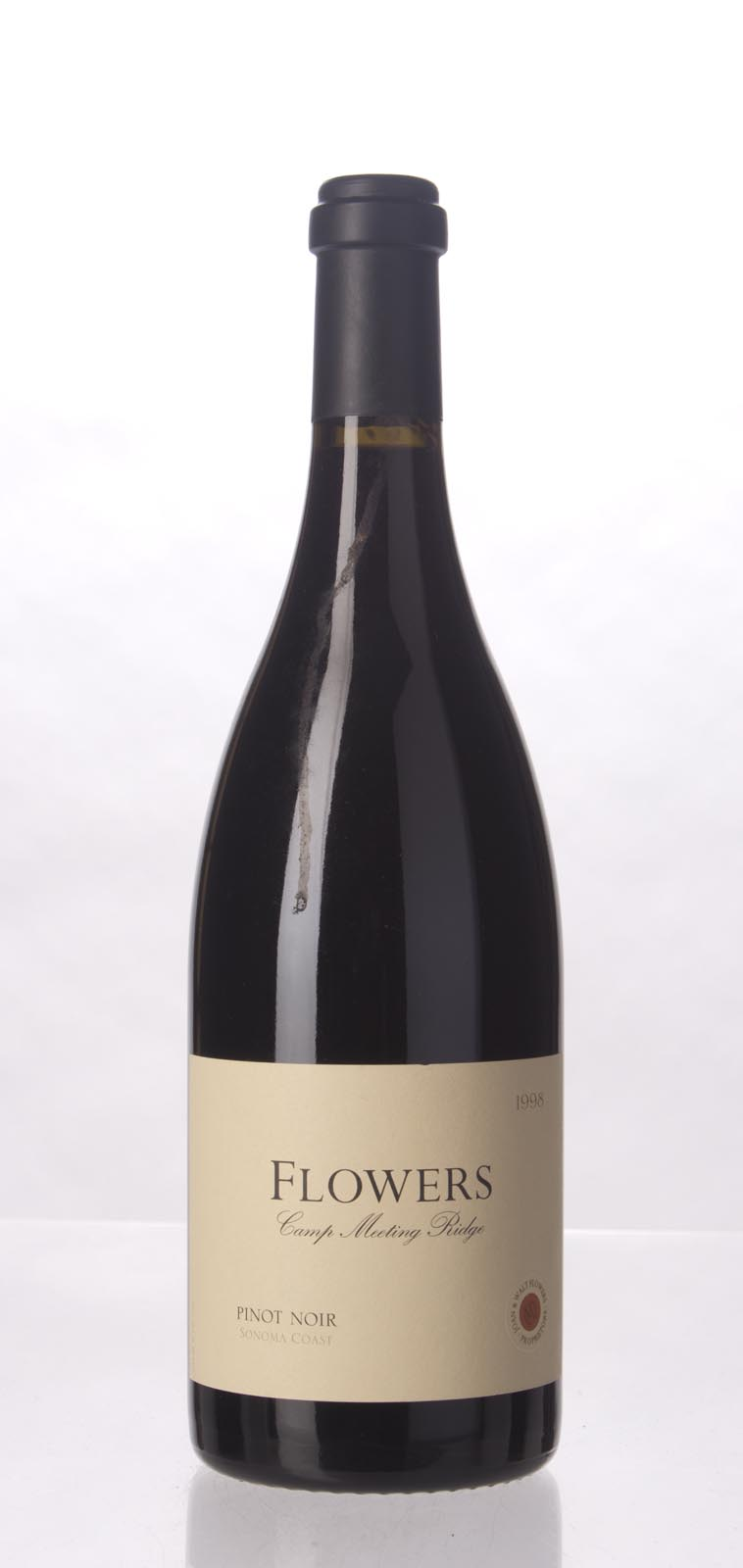 Flowers Pinot Noir Camp Meeting Ridge Vineyard 1998, 750mL () from The BPW - Merchants of rare and fine wines.