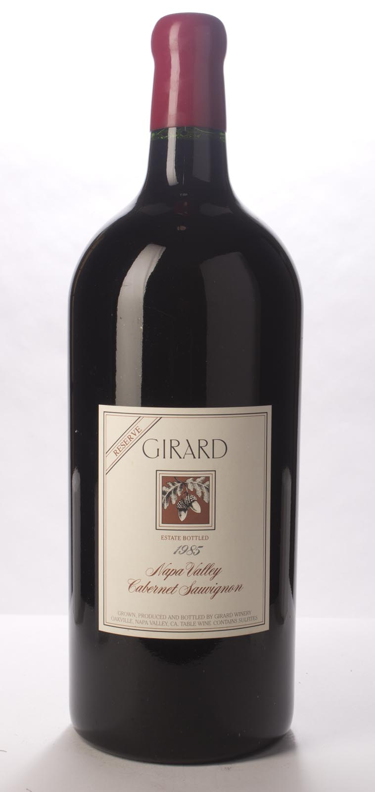 Girard Cabernet Sauvignon Reserve 1985, 5L () from The BPW - Merchants of rare and fine wines.