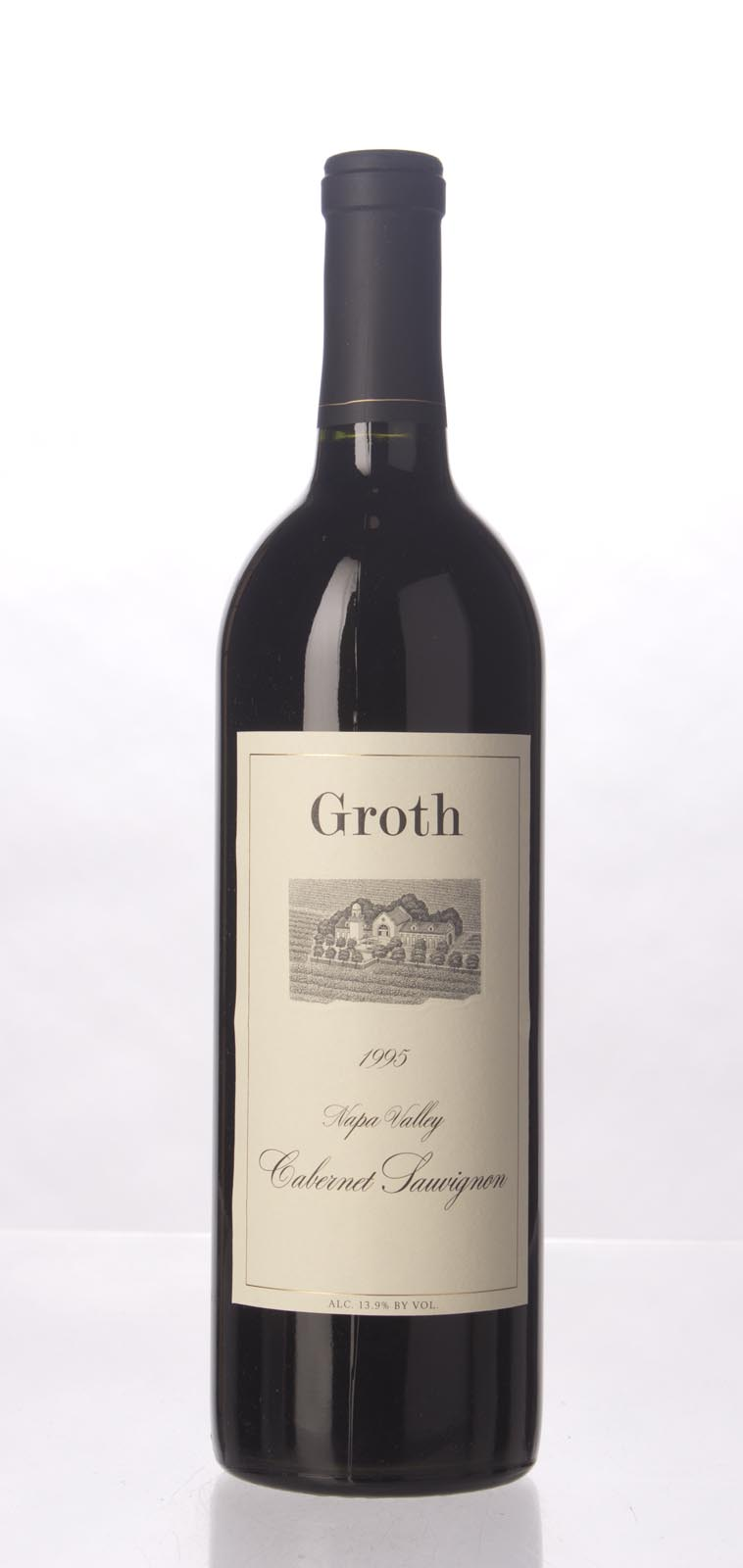 Groth Vineyards Cabernet Sauvignon Napa Valley 1995, 750mL () from The BPW - Merchants of rare and fine wines.