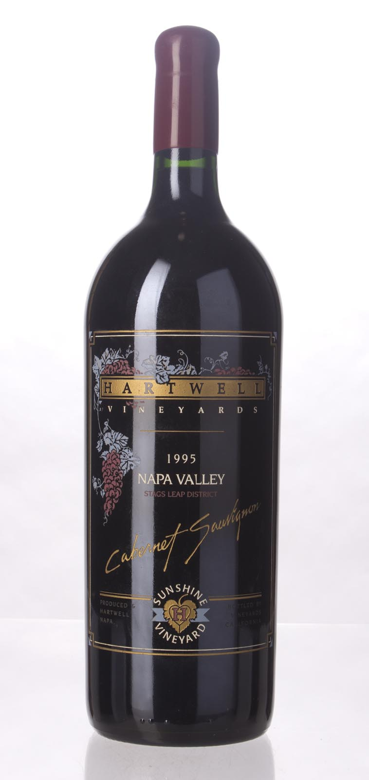 Hartwell Cabernet Sauvignon Sunshine Vineyard 1995, 1.5L (WS92) from The BPW - Merchants of rare and fine wines.