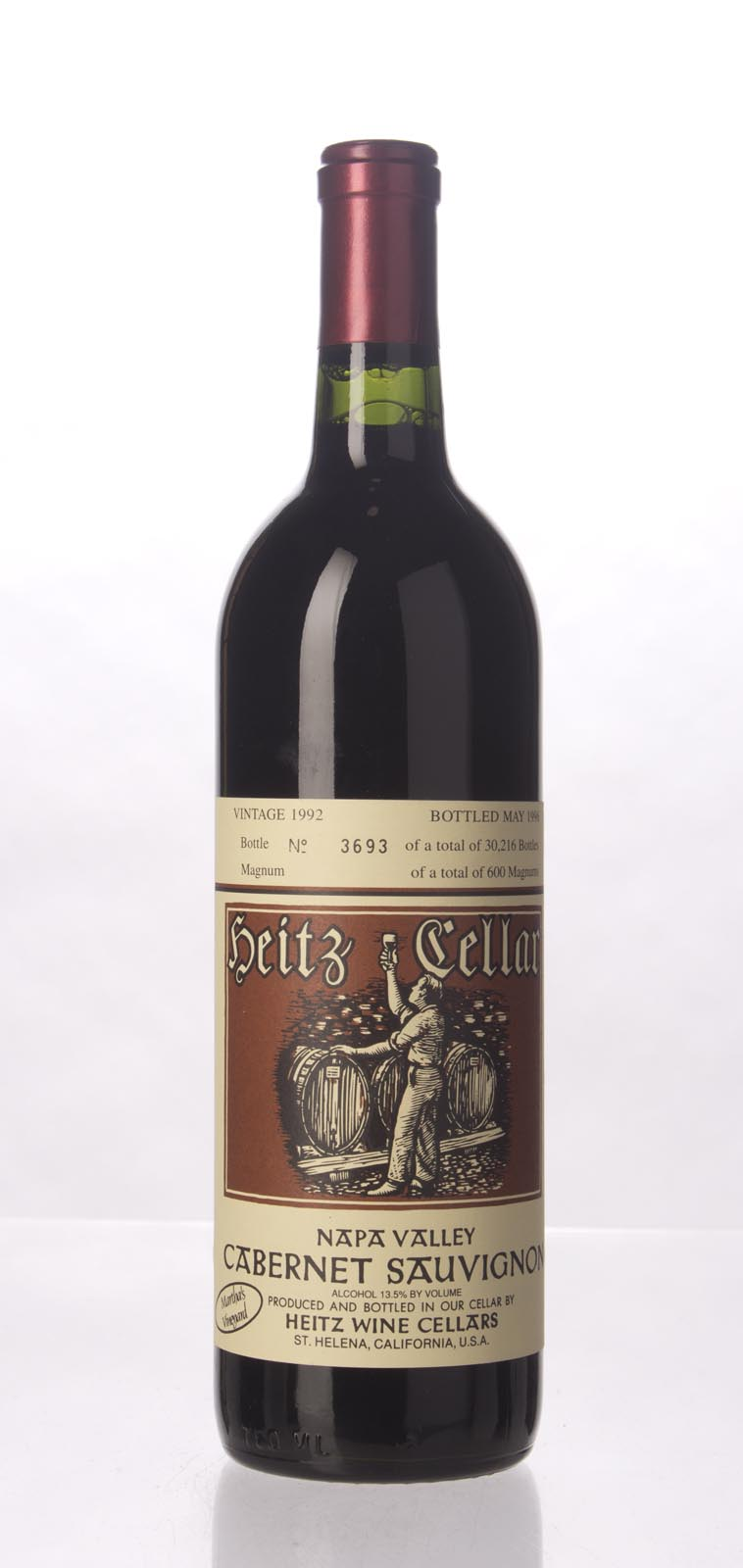 Heitz Cabernet Sauvignon Martha`s Vineyard 1992, 750mL (WS93) from The BPW - Merchants of rare and fine wines.
