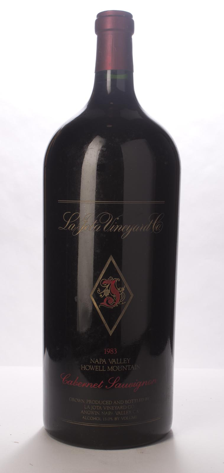La Jota Cabernet Sauvignon Howell Mountain 1983, 6L (WS90) from The BPW - Merchants of rare and fine wines.