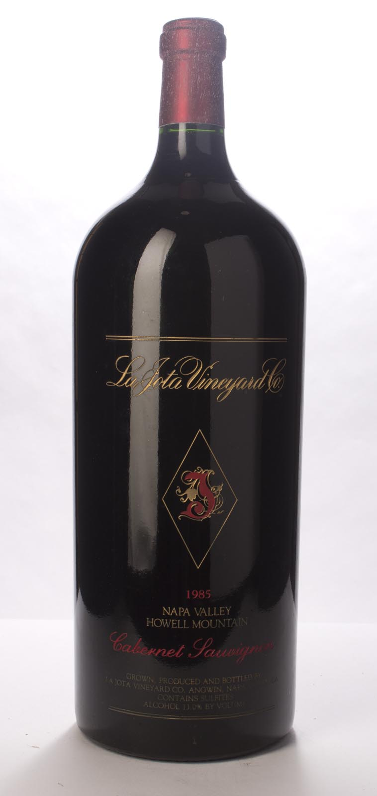 La Jota Cabernet Sauvignon Howell Mountain 1985, 6L (WS91) from The BPW - Merchants of rare and fine wines.
