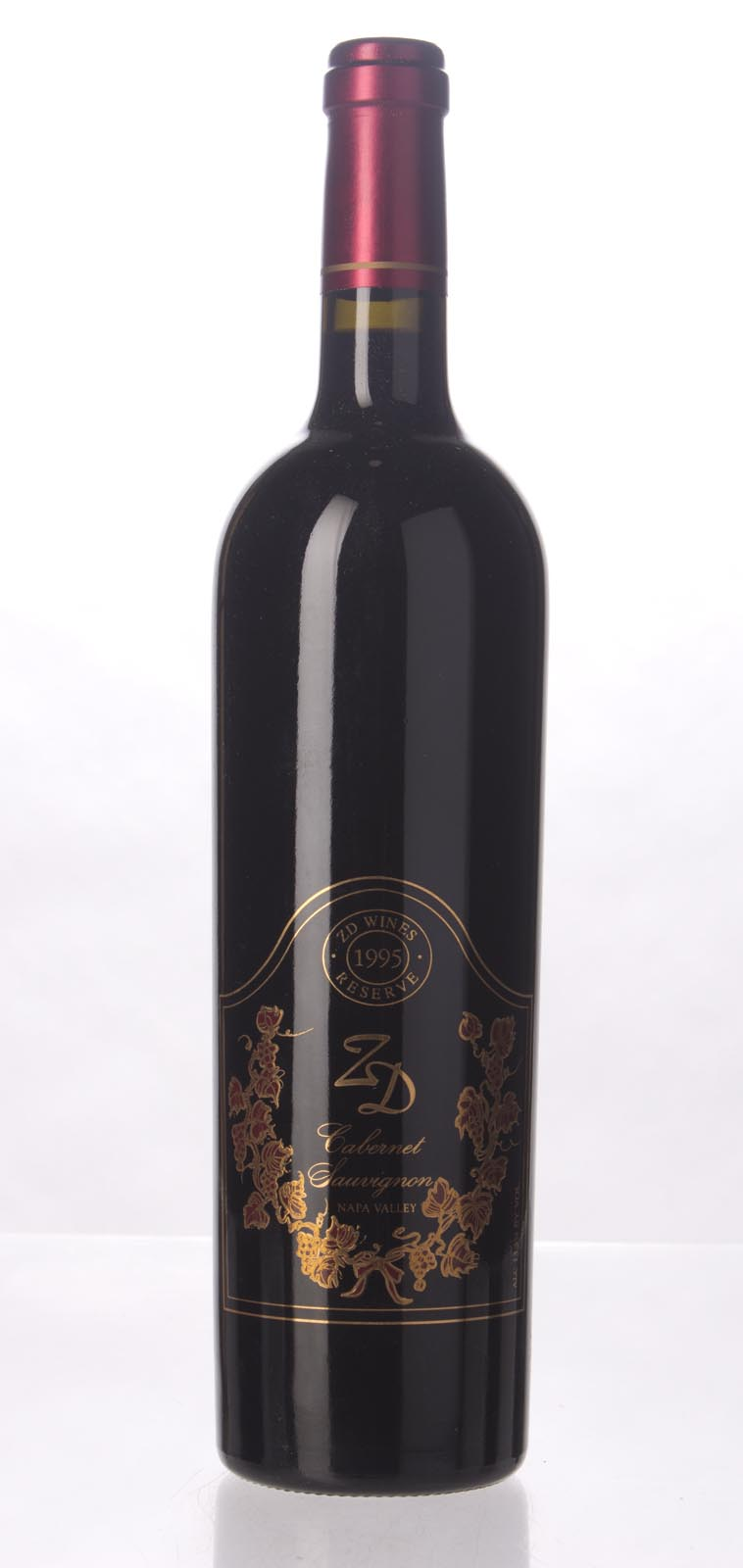 ZD Wines Cabernet Sauvignon Reserve 1995,  (WS92) from The BPW - Merchants of rare and fine wines.