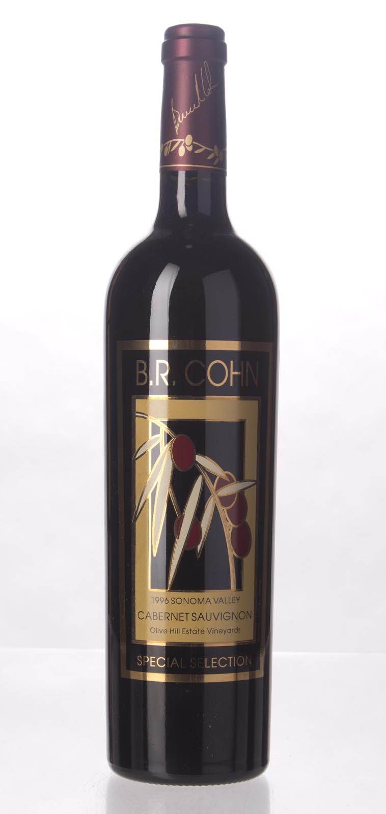 B.R. Cohn Cabernet Sauvignon Olive Hill Vineyard Special Selection 1996, 750mL (WS93) from The BPW - Merchants of rare and fine wines.