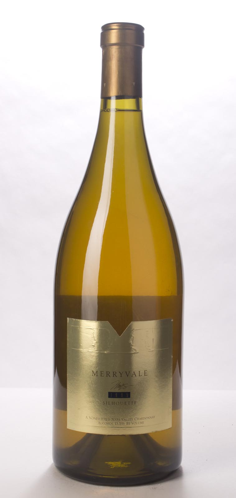 Merryvale Vineyards Chardonnay Silhouette 1995, 3L (WA93-95) from The BPW - Merchants of rare and fine wines.
