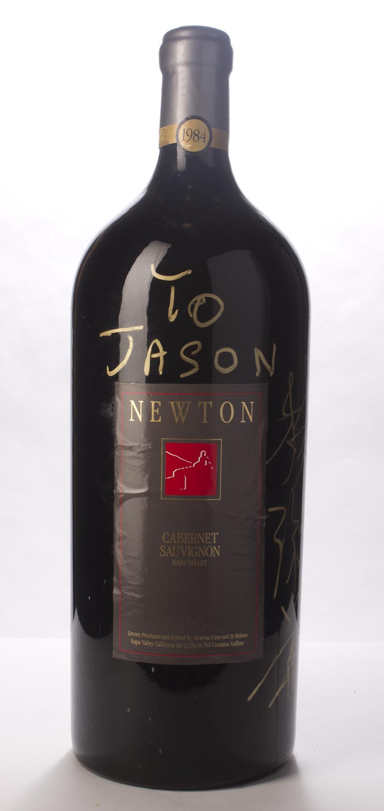 Newton Cabernet Sauvignon Napa Valley Unfiltered 1984, 6L (WS91) from The BPW - Merchants of rare and fine wines.