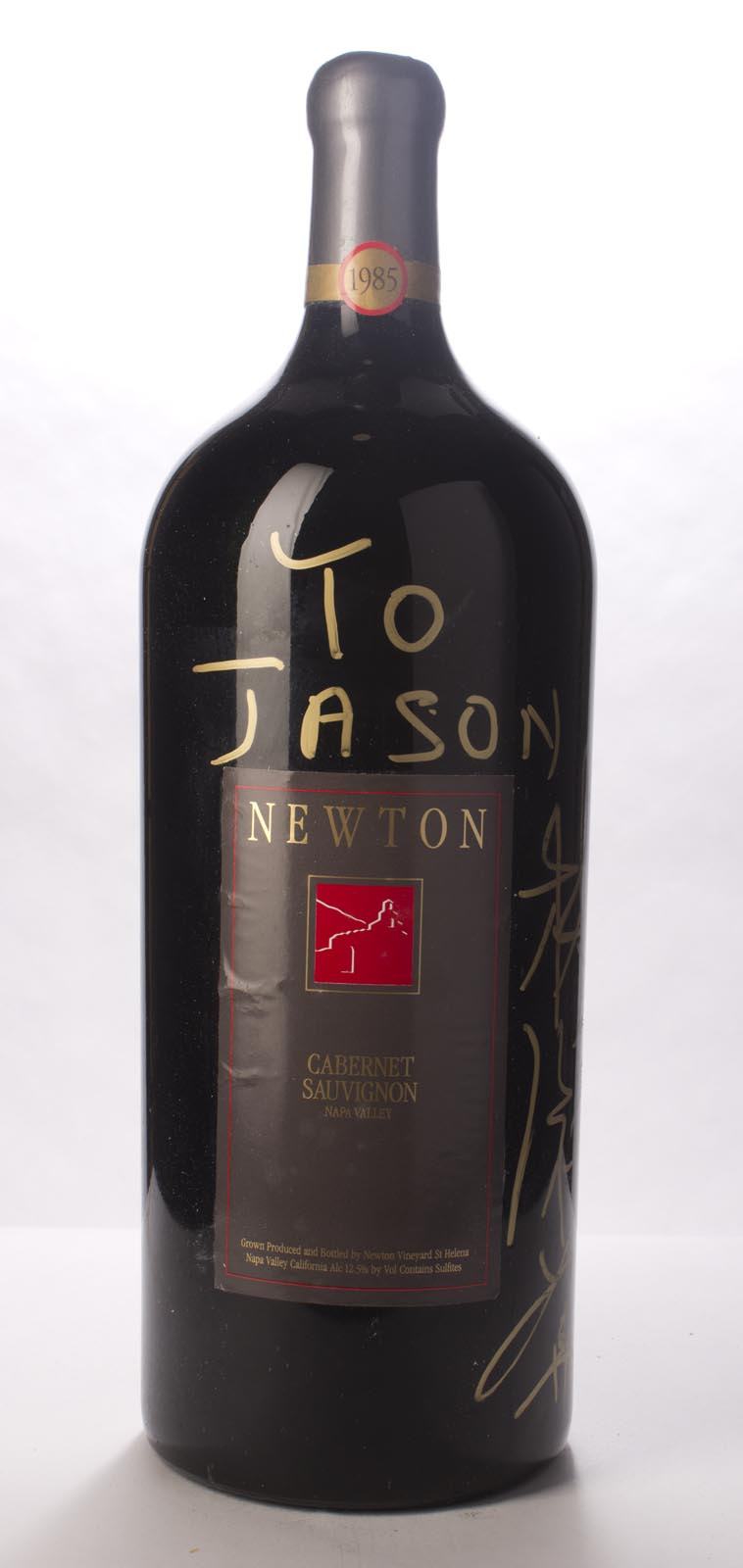 Newton Cabernet Sauvignon Napa Valley Unfiltered 1985, 6L () from The BPW - Merchants of rare and fine wines.