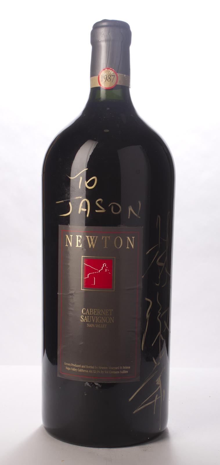 Newton Cabernet Sauvignon Napa Valley Unfiltered 1987, 6L () from The BPW - Merchants of rare and fine wines.