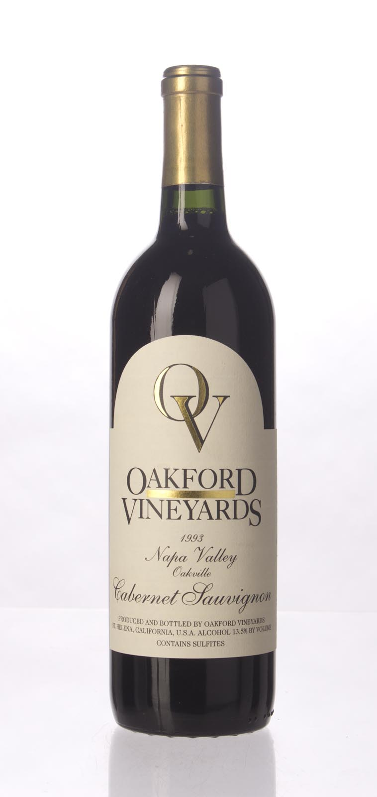 Oakford Cabernet Sauvignon 1993,  (WA90-92) from The BPW - Merchants of rare and fine wines.