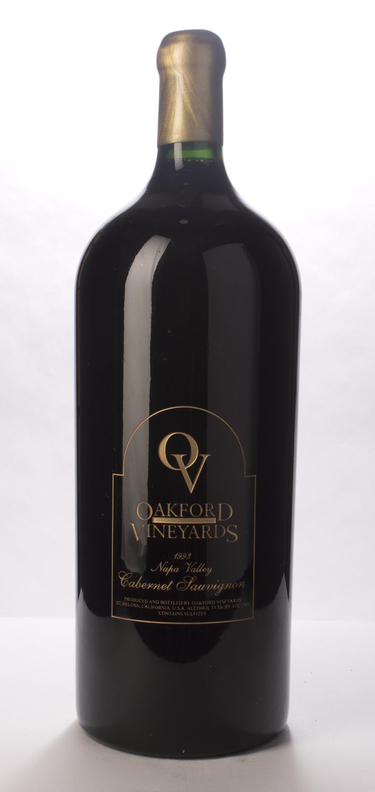 Oakford Cabernet Sauvignon 1993, 6L (WA90-92) from The BPW - Merchants of rare and fine wines.