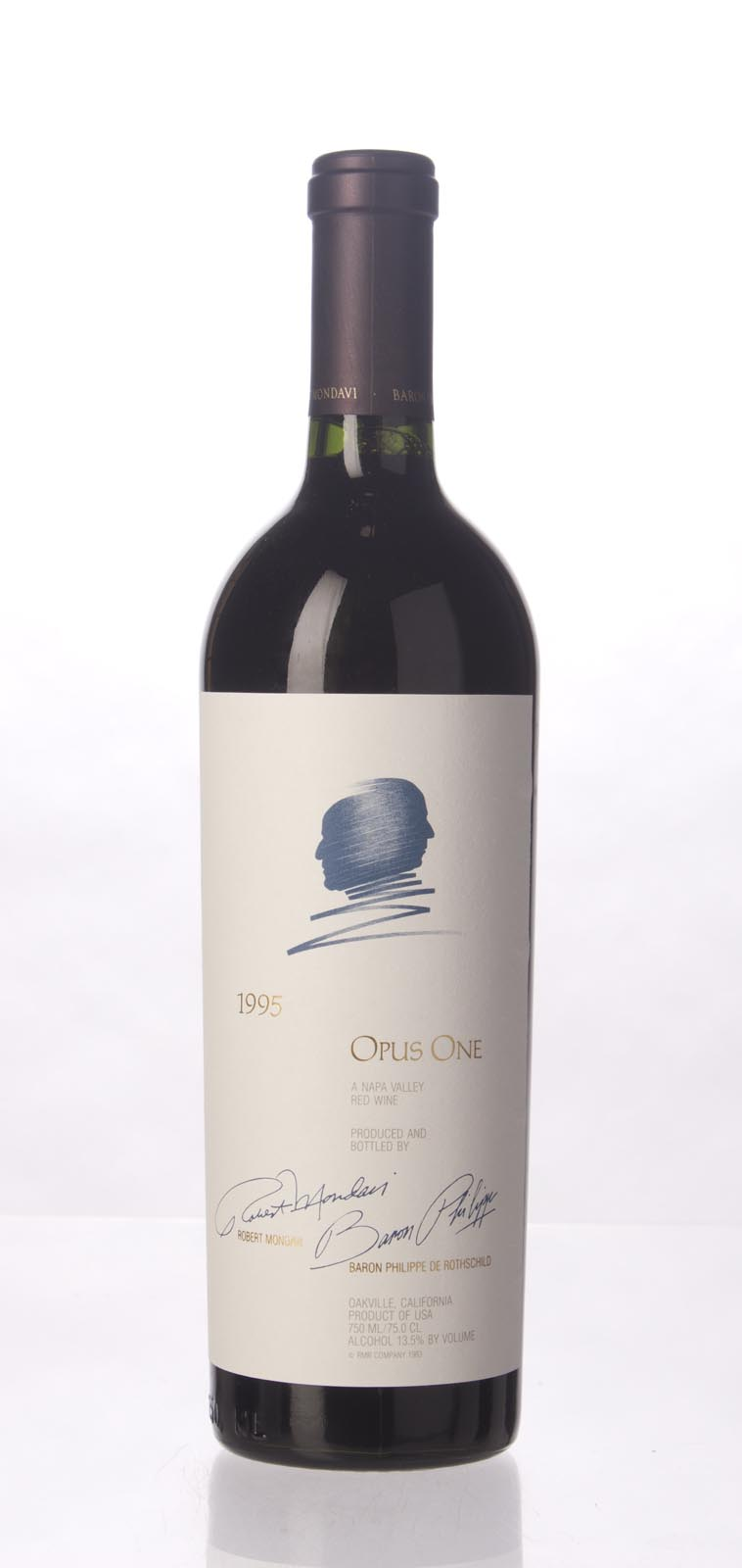 Opus One Proprietary Red Wine 1995,  (WS95) from The BPW - Merchants of rare and fine wines.