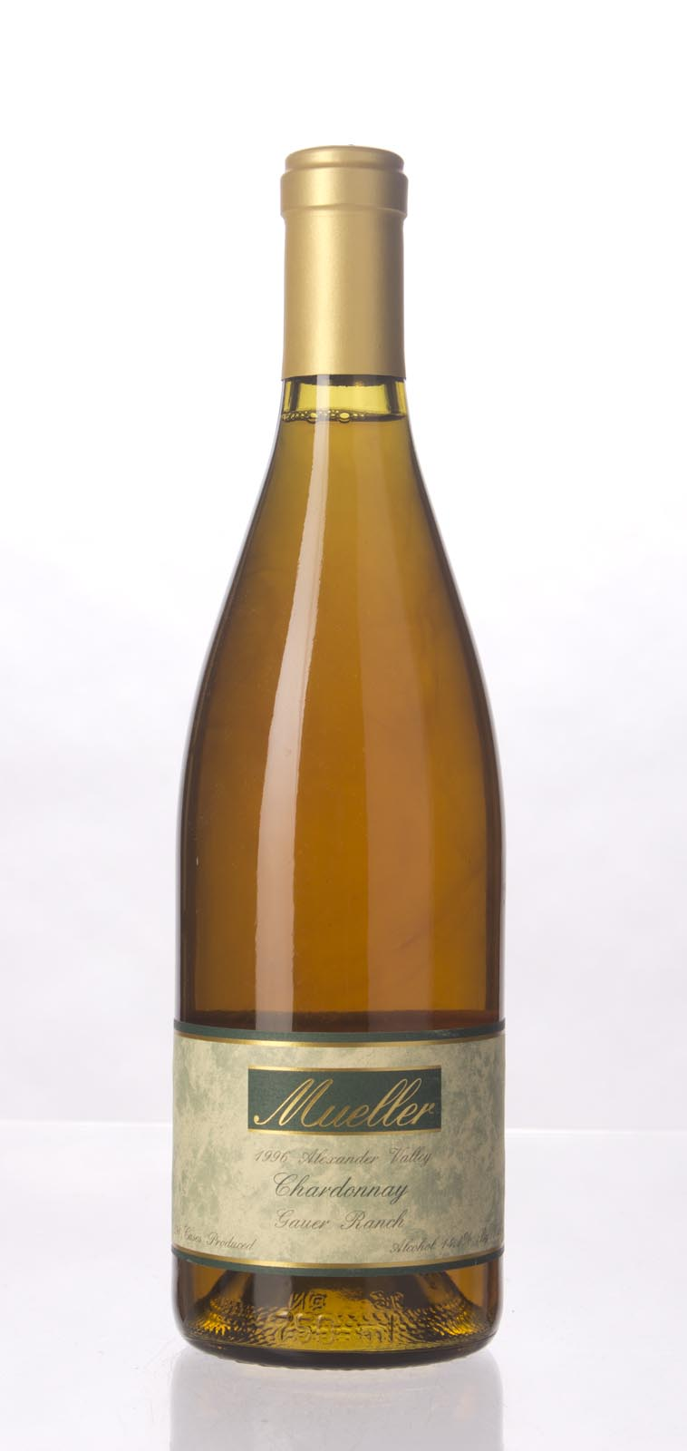 Robert Mueller Cellars Chardonnay Gauer Ranch 1996, 750mL (WS92) from The BPW - Merchants of rare and fine wines.