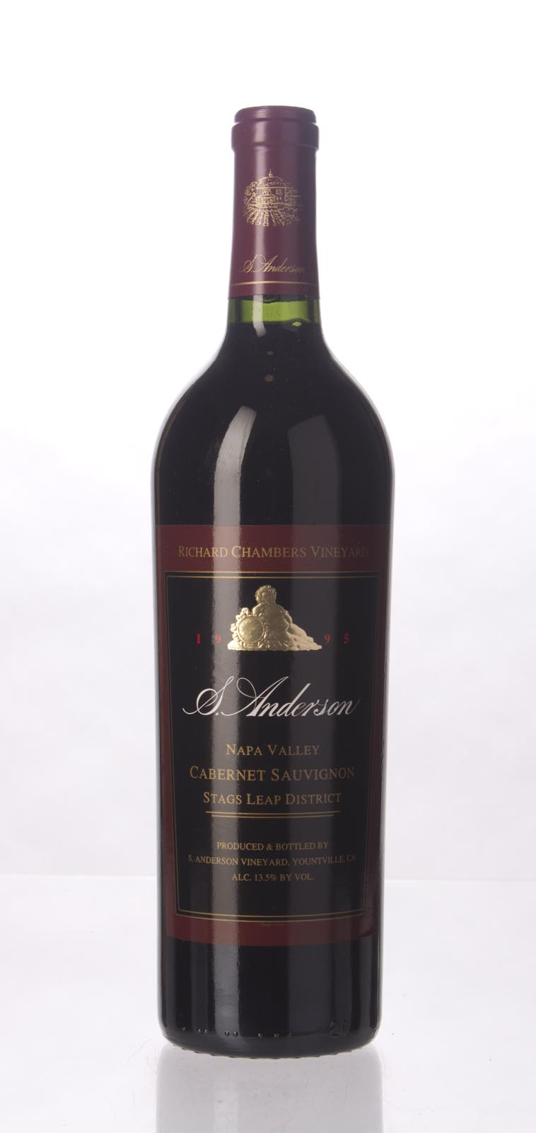 S. Anderson Cabernet Sauvignon Richard Chambers Vineyard 1995,  (WS91) from The BPW - Merchants of rare and fine wines.