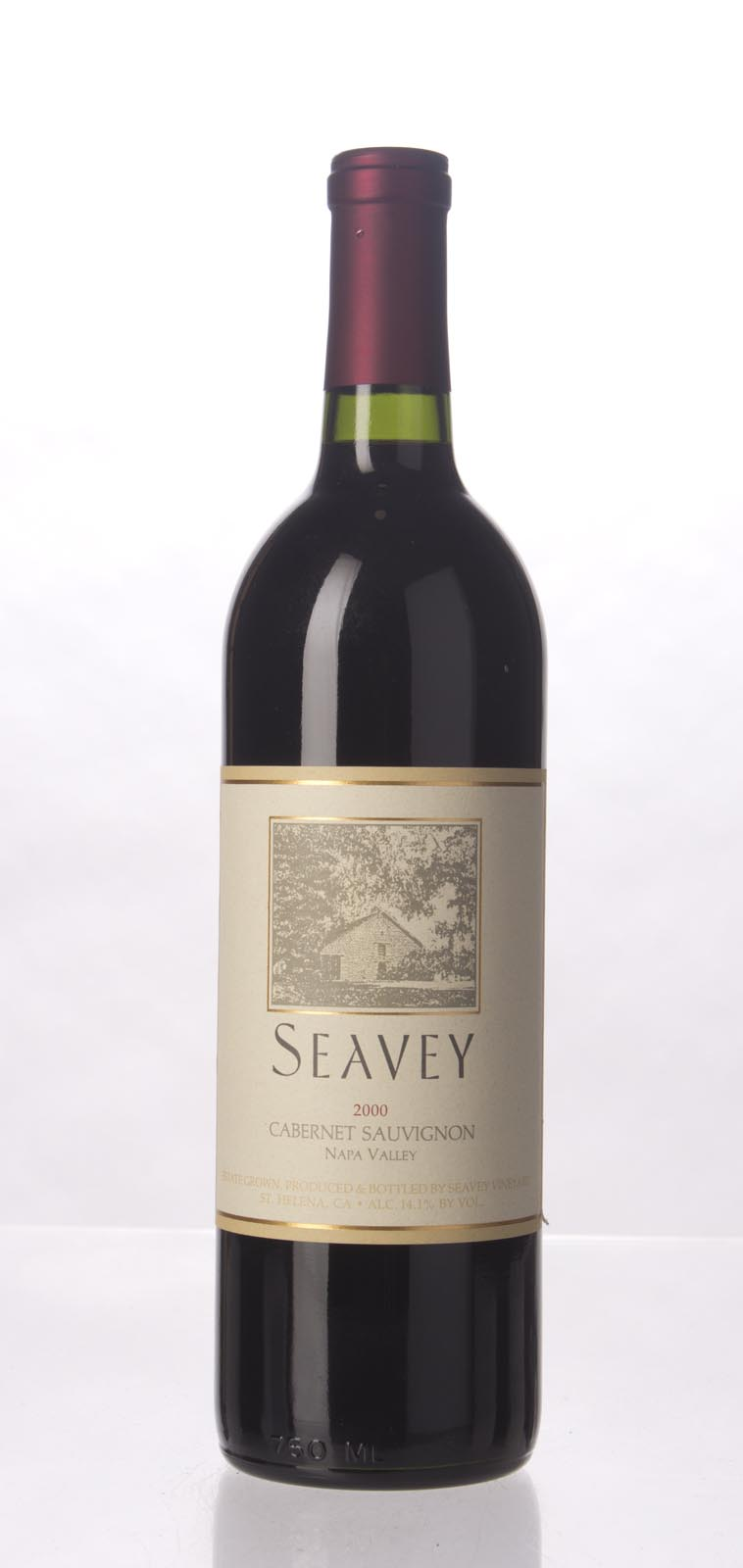 Seavey Cabernet Sauvignon Napa Valley 2000, 750mL (WA91, ST92) from The BPW - Merchants of rare and fine wines.