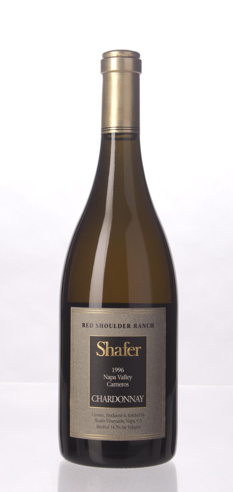 Shafer Chardonnay Red Shoulder Ranch 1996, 750mL (WA90, ST90, WS92) from The BPW - Merchants of rare and fine wines.