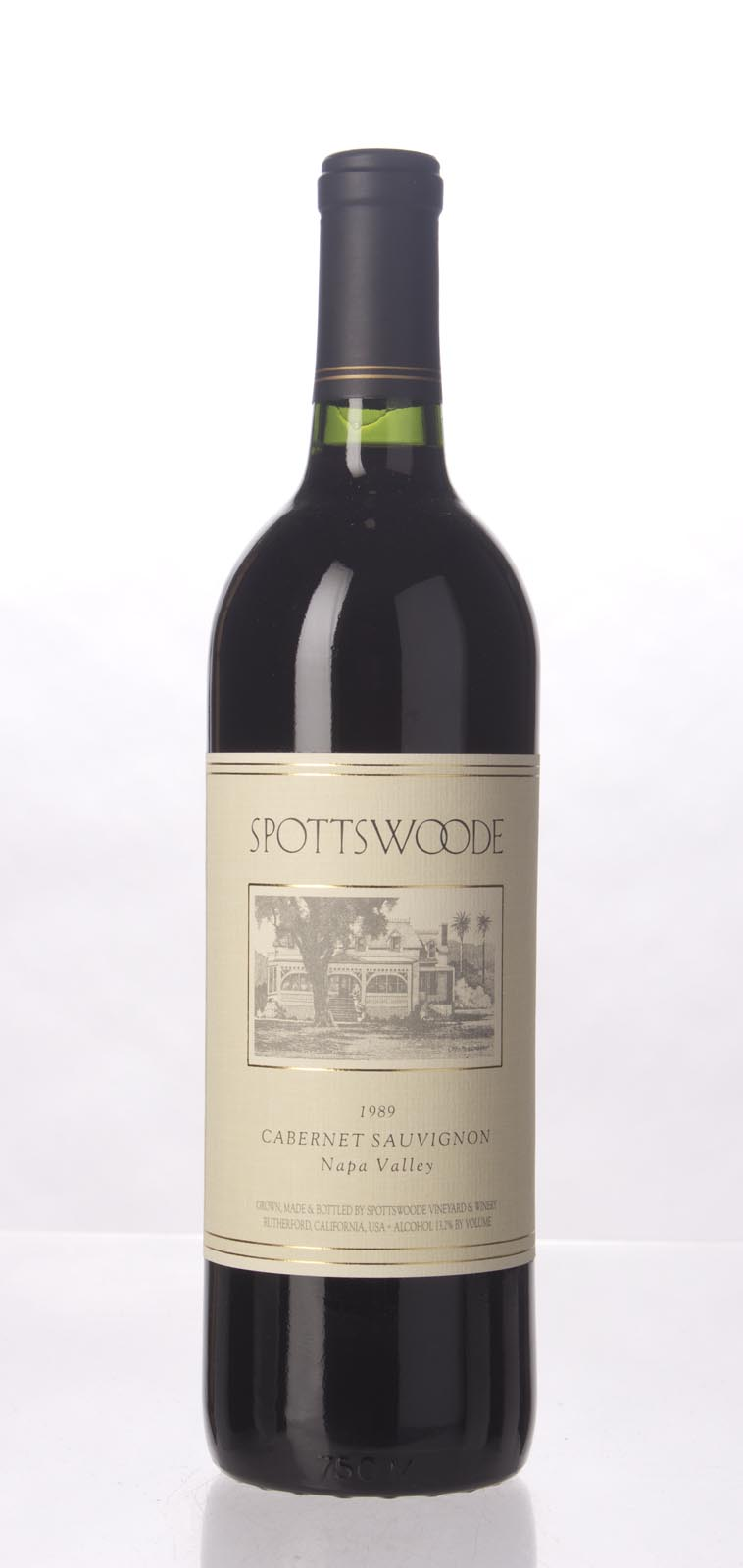 Spottswoode Cabernet Sauvignon Napa Valley 1989, 750mL () from The BPW - Merchants of rare and fine wines.