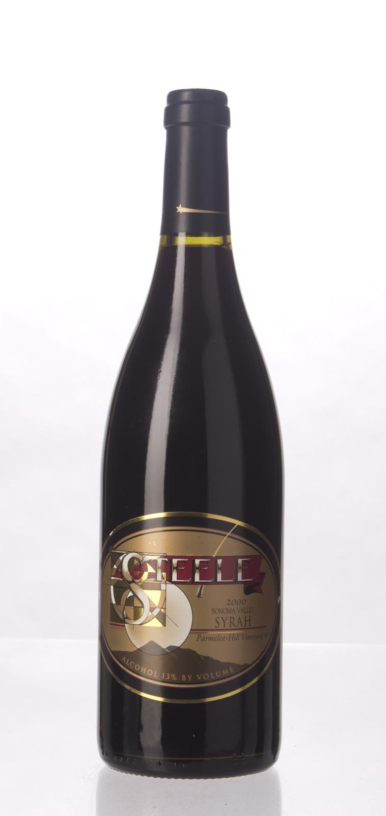 Steele Syrah Parmelee Hill Vineyard 2000, 750mL () from The BPW - Merchants of rare and fine wines.