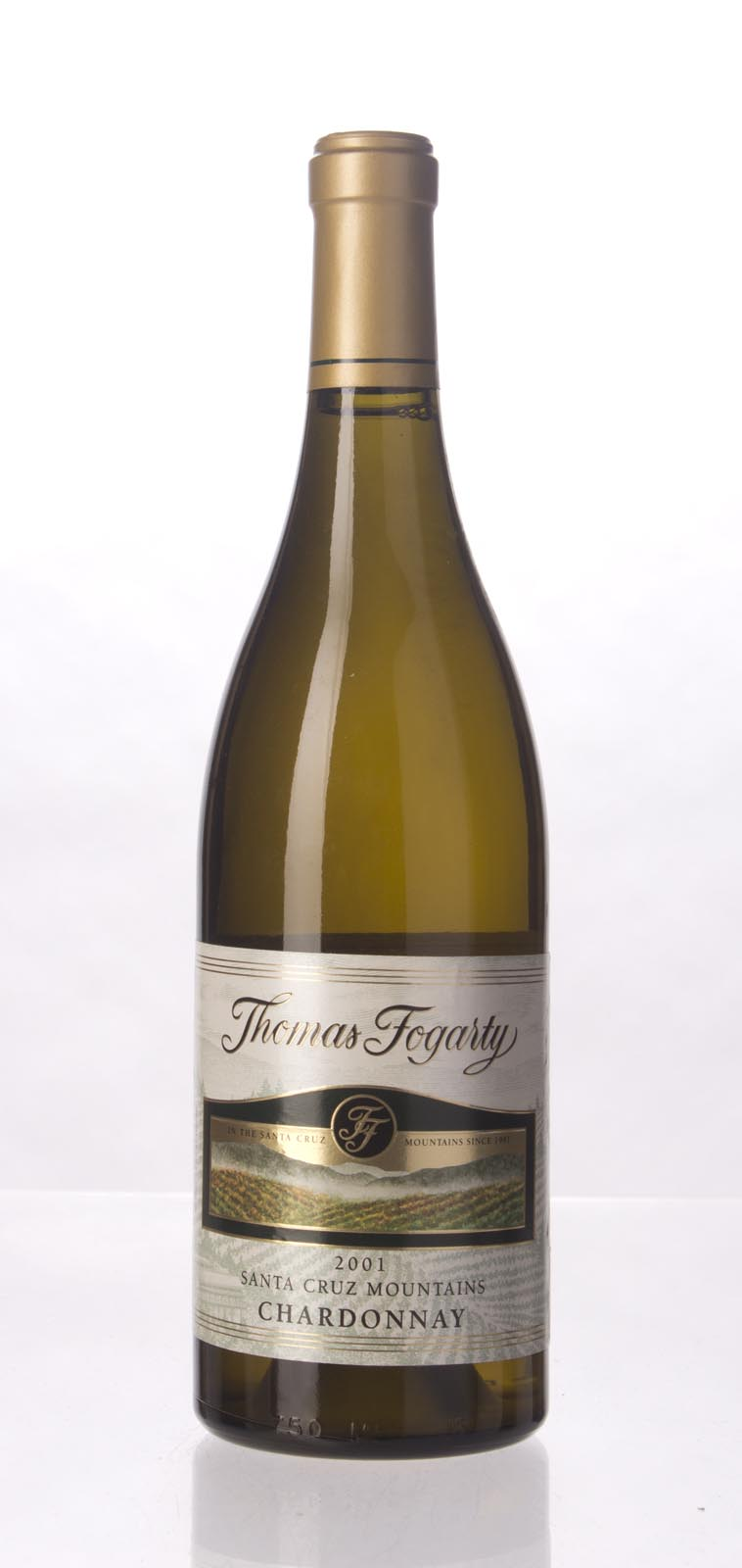 Thomas Fogarty Chardonnay Santa Cruz Mountains 2001, 750mL () from The BPW - Merchants of rare and fine wines.