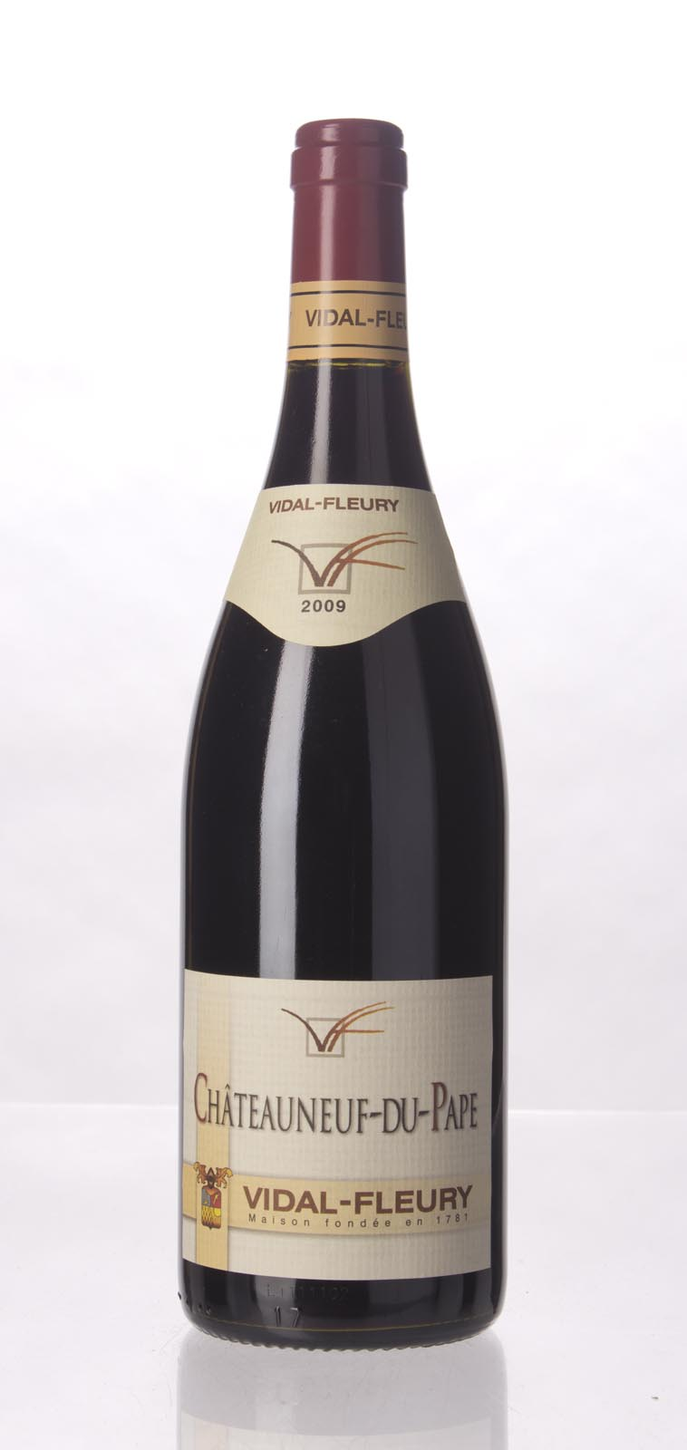 Vidal Fleury Chateauneuf du Pape 2009, 750mL (WA90) from The BPW - Merchants of rare and fine wines.