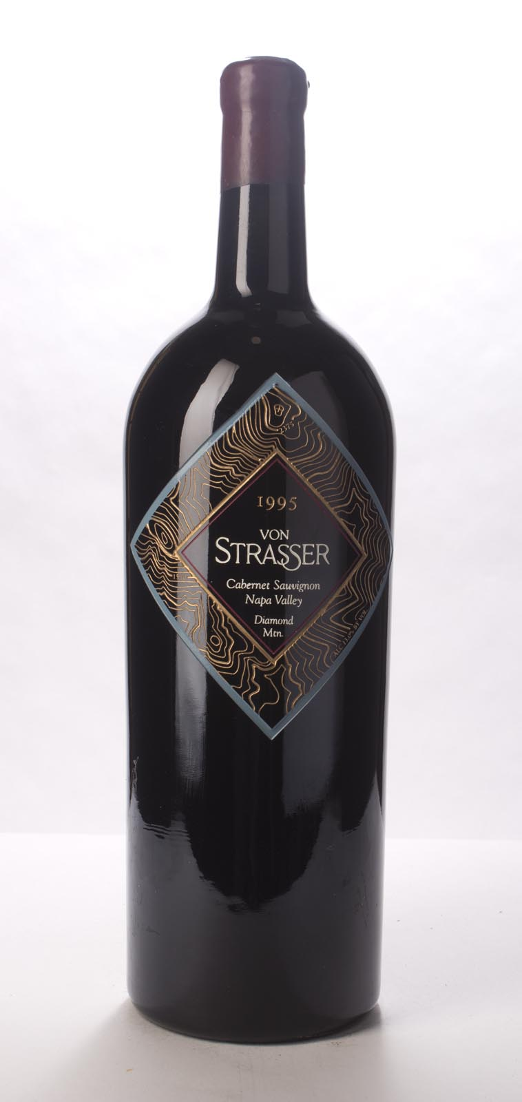 Von Strasser Cabernet Sauvignon Diamond Mountain 1995, 3L (WS93) from The BPW - Merchants of rare and fine wines.