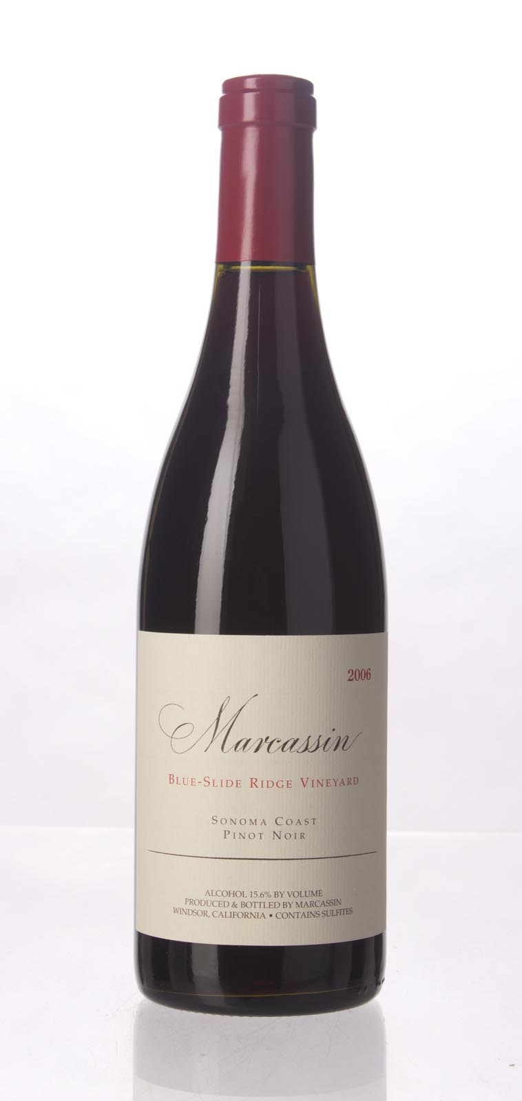 Marcassin Pinot Noir Blue Slide Ridge 2006, 750mL (WA95, WS96) from The BPW - Merchants of rare and fine wines.