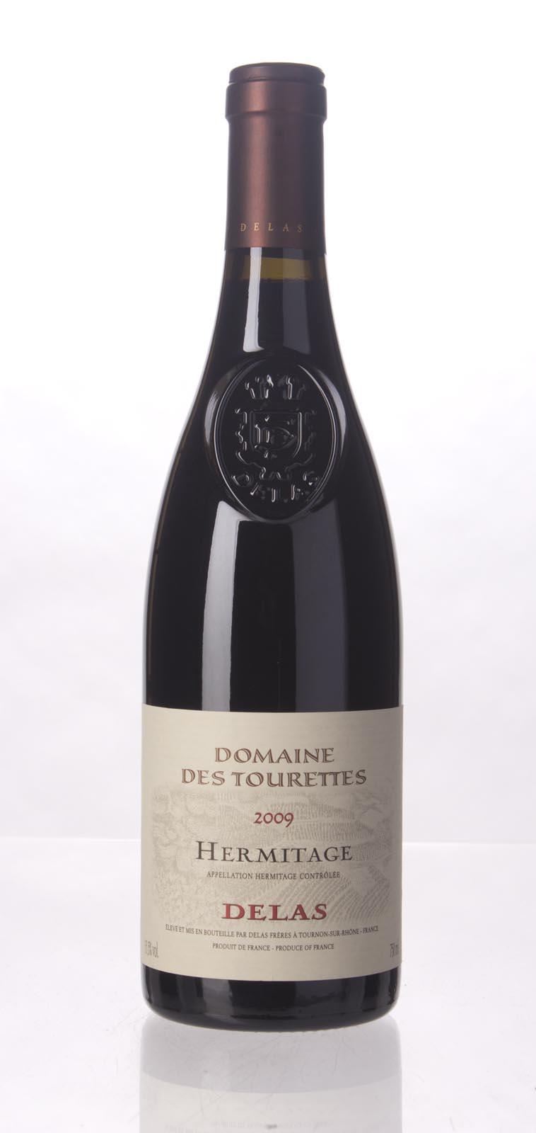 Delas Freres Hermitage Marquise de la Tourette 2009, 750mL (WA98) from The BPW - Merchants of rare and fine wines.