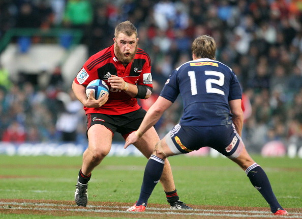 CAPE TOWN, SOUTH AFRICA - JULY 02:  Owen Franks of  the Crusaders in action during the Super Rugby semi-final match between DHL Stormers and Crusaders, at DHL Newlands Stadium on July 02, 2011 in Cape Town, South Africa. (Photo by Carl Fourie/Gallo Images/Getty Images)