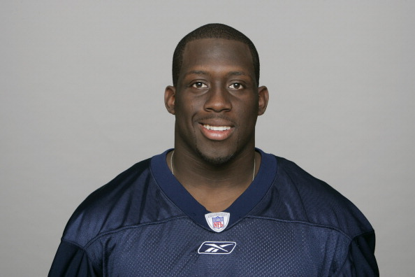 NASHVILLE, TN - CIRCA 2010: In this handout image provided by the NFL,  Stephen Tulloch of the Tennessee Titans poses for his 2010 NFL headshot circa 2010 at Baptist Sports Park in Nashville, Tennessee. (Photo by NFL via Getty Images)