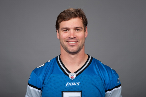 DETROIT, MI - CIRCA 2010:  In this photo provided by the NFL, Drew Stanton of the Detroit Lions poses for his 2010 NFL headshot circa 2010 in Detroit, Michigan.  (Photo by NFL via Getty Images)