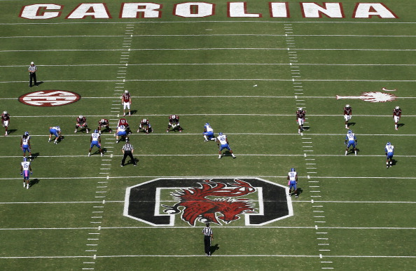 COLUMBIA, SC - OCTOBER 08:  A general view of the Kentucky Wildcats against the South Carolina Gamecocks during their game at Williams-Brice Stadium on October 8, 2011 in Columbia, South Carolina.  (Photo by Streeter Lecka/Getty Images)