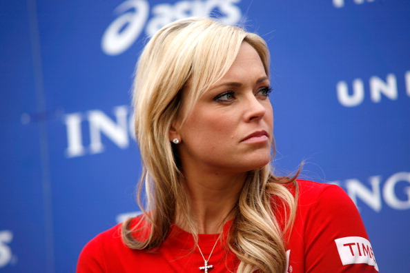 NEW YORK, NY - NOVEMBER 03:  Jennie Finch attends a press conference at Marathon Pavilion in Central Park on November 3, 2011 in New York City.  (Photo by Andy Kropa/Getty Images)