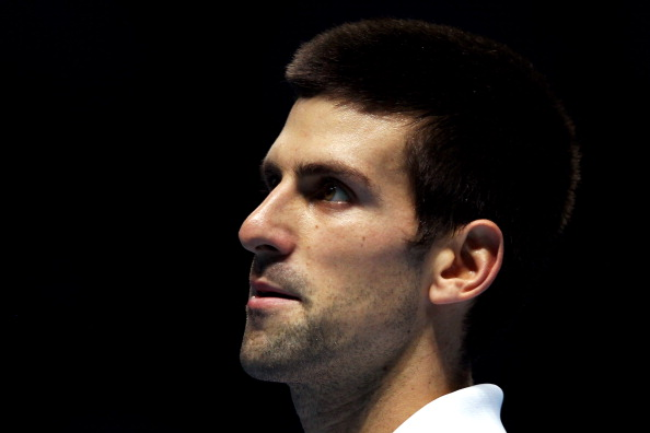 LONDON, ENGLAND - NOVEMBER 25:  Novak Djokovic of Serbia looks on as he heads towards defeat during the men's singles match against Janko Tipsarevic of Serbia during the Barclays ATP World Tour Finals at the O2 Arena on November 25, 2011 in London, England.  (Photo by Clive Brunskill/Getty Images)