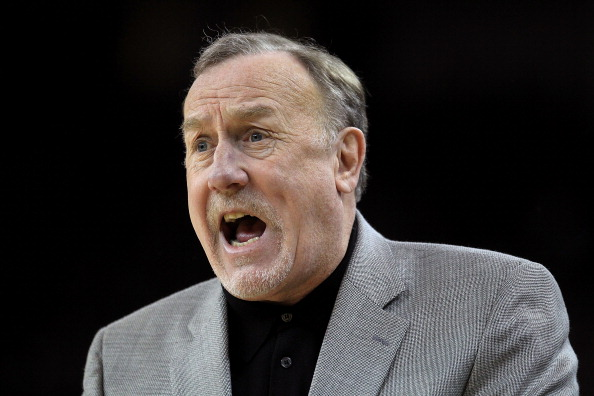 OAKLAND, CA - DECEMBER 20:  Head coach Rick Adelman of the Houston Rockets talks to his team during their game against the Golden State Warriors at Oracle Arena on December 20, 2010 in Oakland, California. NOTE TO USER: User expressly acknowledges and agrees that, by downloading and or using this photograph, User is consenting to the terms and conditions of the Getty Images License Agreement.  (Photo by Ezra Shaw/Getty Images)