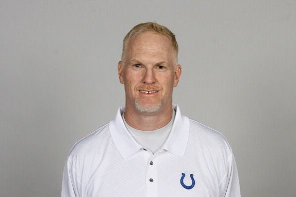 INDIANAPOLIS, IN - CIRCA 2011: In this handout image provided by the NFL,  Pete Metzelaars of the Indianapolis Colts poses for his NFL headshot circa 2011 in Indianapolis, Indiana.  (Photo by NFL via Getty Images)