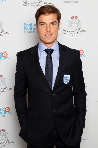 LONDON, ENGLAND - FEBRUARY 26: (EXCLUSIVE COVERAGE) Scott Parker attends The England Footballers Foundation Lions and Roses Charity Dinner 2012 in aid of Help For Heroes and Cancer Research UK at The Brewery on February 26, 2012 in London, England. (Photo by Dave J Hogan/Getty Images)