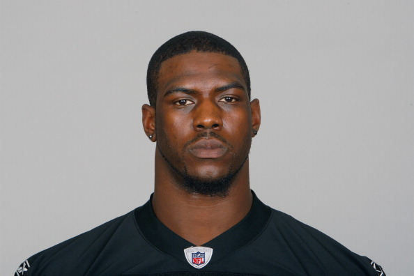 OAKLAND, CA - CIRCA 2011: In this handout image provided by the NFL, Bruce Campbell of the Oakland Raiders poses for his NFL headshot circa 2011 in Oakland, California. (Photo by NFL via Getty Images)