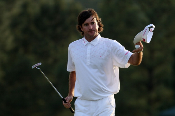 AUGUSTA, GA - APRIL 08:  Bubba Watson of the United States walks up the 18th fairway during the final round of the 2012 Masters Tournament at Augusta National Golf Club on April 8, 2012 in Augusta, Georgia.  (Photo by Jamie Squire/Getty Images)