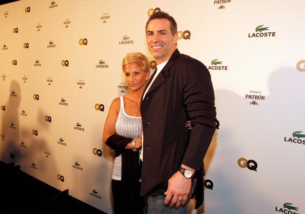 INDIANAPOLIS, IN - FEBRUARY 04:  NFL quarterback Kurt Warner (R) and Brenda Warner attend GQ, Lacoste And Patron Tequila Celebrate The Super Bowl In Indianapolis at The Stutz Building on February 3, 2012 in Indianapolis, Indiana.  (Photo by Christopher Polk/Getty Images for GQ)