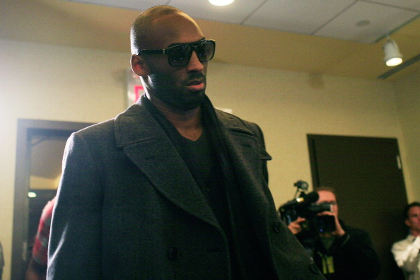 NEW YORK, NY - NOVEMBER 14:  Kobe Bryant  arrives for a press conference after National Basketball Players Association  met to discuss the current CBA offer at Westin Times Square on November 14, 2011 in New York City.  (Photo by Patrick McDermott/Getty Images)