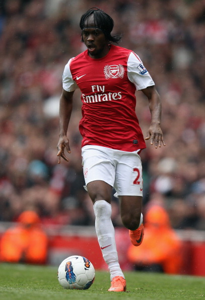 LONDON, ENGLAND - MAY 05:  Gervinho of Arsenal in action during the Barclays Premier League match between Arsenal and Norwich City at the Emirates Stadium on May 5, 2012 in London, England.  (Photo by Bryn Lennon/Getty Images)