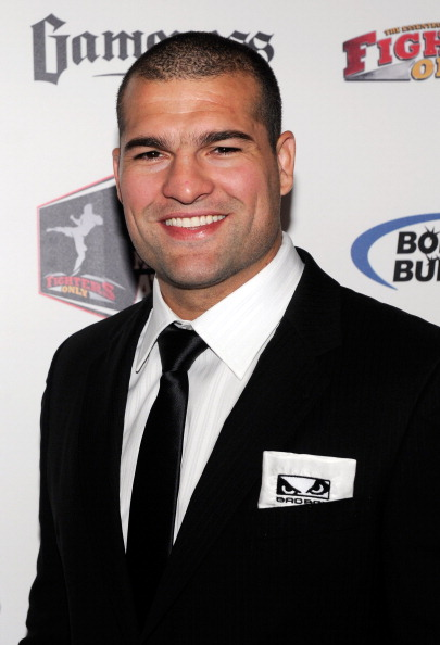 LAS VEGAS, NV - DECEMBER 01:  Mixed martial artist Mauricio 'Shogun' Rua arrives at the third annual Fighters Only World Mixed Martial Arts Awards 2010 at the Palms Casino Resort December 1, 2010 in Las Vegas, Nevada.  (Photo by Ethan Miller/Getty Images)
