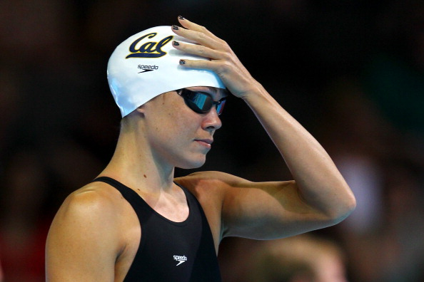 OMAHA, NE - JUNE 26:  Natalie Coughlin looks on as she prepares to compete in preliminary heat 17 of the Women's 100 m Backstroke during Day Two of the 2012 U.S. Olympic Swimming Team Trials at CenturyLink Center on June 26, 2012 in Omaha, Nebraska.  (Photo by Al Bello/Getty Images)