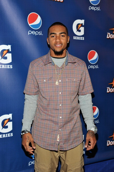 INDIANAPOLIS, IN - FEBRUARY 03:  DeSean Jackson of the Philadelphia Eagles attends Pepsi Pre-Super Bowl Party at Indiana State Museum on February 3, 2012 in Indianapolis, Indiana.  (Photo by Mike Coppola/Getty Images for Pepsi)