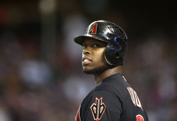 PHOENIX, AZ - JULY 07:  Justin Upton #10 of the Arizona Diamondbacks warms up on deck during the MLB game against the Los Angeles Dodgers at Chase Field on July 7, 2012 in Phoenix, Arizona.  (Photo by Christian Petersen/Getty Images)