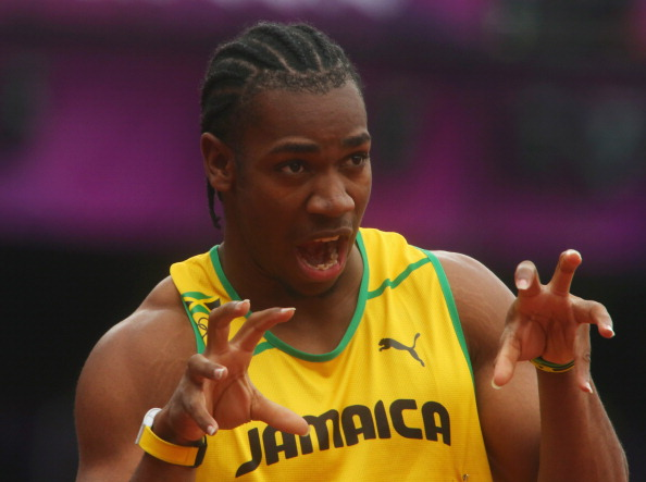 LONDON, ENGLAND - AUGUST 07:  Yohan Blake of Jamaica reacts after competing in the Men's 200m Round 1 Heats on Day 11 of the London 2012 Olympic Games at Olympic Stadium on August 7, 2012 in London, England.  (Photo by Alexander Hassenstein/Getty Images)
