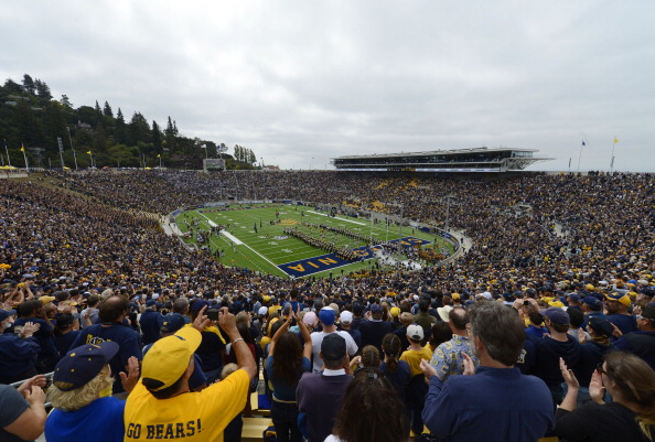 BERKELEY, CA - SEPTEMBER 01:  An inside general view of the newly renovated California Memorial Stadium before an NCAA football game between the Nevada Wolf Pack and the California Golden Bears at California Memorial Stadium on September 1, 2012 in Berkeley, California.  (Photo by Thearon W. Henderson/Getty Images)