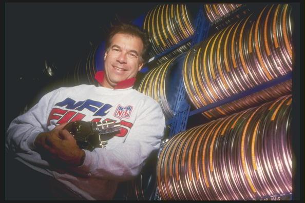 27 Oct 1993:  Pictured here is Steve Sabol, co-founder of NFL Films.           Mandatory Credit: Scott Halleran  /Allsport